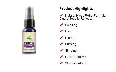 oxyhives homoepathic treatment